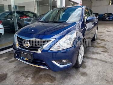 Foto venta Auto usado Nissan Versa Advance Aut (2018) color Azul precio $179,900