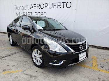 Foto venta Auto usado Nissan Versa Advance Aut (2017) color Negro precio $178,000