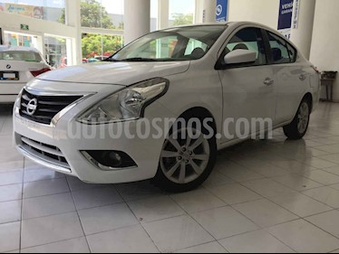 Foto venta Auto usado Nissan Versa Advance Aut (2018) color Blanco precio $179,900