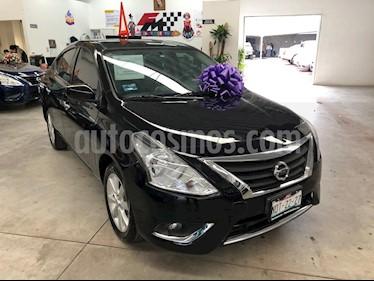 Foto Nissan Versa Advance Aut usado (2017) color Negro precio $189,000