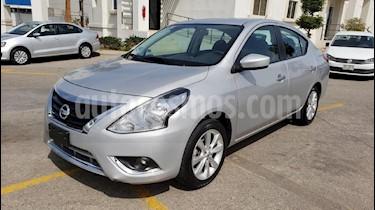 Foto venta Auto usado Nissan Versa Advance Aut (2018) color Plata precio $191,900