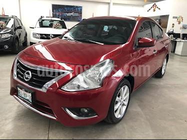 Foto Nissan Versa Advance Aut usado (2017) color Rojo precio $189,000