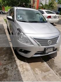 Nissan Versa Advance Aut usado (2015) color Plata precio $129,500