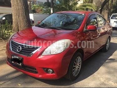 Foto Nissan Versa Advance Aut usado (2012) color Rojo precio $120,000