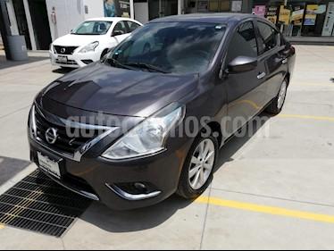 Foto venta Auto usado Nissan Versa Advance Aut (2016) color Gris Oscuro precio $160,000