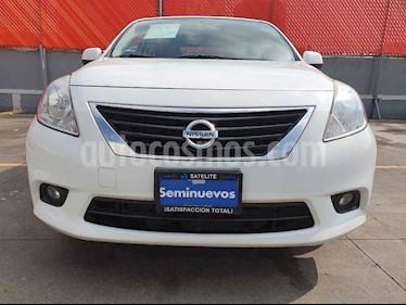 Foto venta Auto usado Nissan Versa Advance Aut (2014) color Blanco precio $135,000