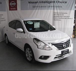 Foto Nissan Versa Advance Aut usado (2017) color Blanco precio $185,000