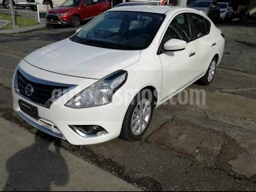 Foto venta Auto usado Nissan Versa Advance Aut (2016) color Blanco precio $155,000