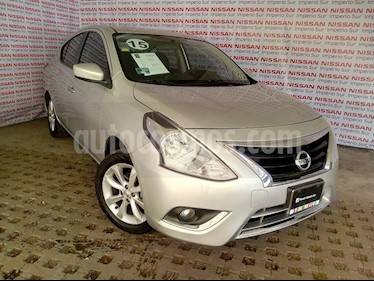 Foto Nissan Versa Advance Aut usado (2015) color Plata precio $145,000