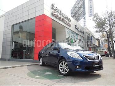 Foto venta Auto Seminuevo Nissan Versa Advance  (2014) color Azul Marino precio $145,000