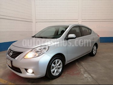 Foto venta Auto usado Nissan Versa Advance  (2014) color Plata precio $125,000