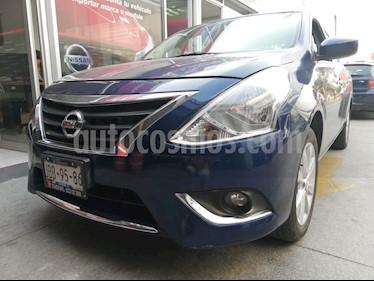 Foto venta Auto usado Nissan Versa Advance (2018) color Azul precio $195,000