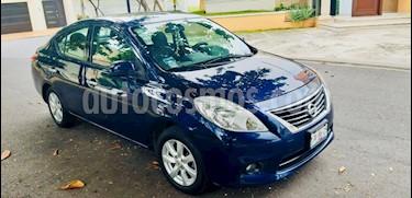 Nissan Versa Advance  usado (2014) color Azul precio $120,000