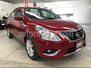 Foto venta Auto usado Nissan Versa Advance (2016) color Rojo precio $165,000