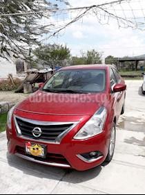 Nissan Versa Advance usado (2015) color Rojo precio $138,000