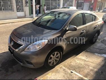 Foto venta Auto Seminuevo Nissan Versa Advance  (2014) color Gris precio $119,000