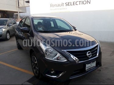 Foto venta Auto usado Nissan Versa Advance (2019) color Gris Oscuro precio $220,000