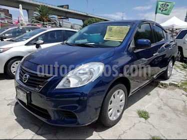 Foto Nissan Versa Advance  usado (2014) color Azul precio $115,200