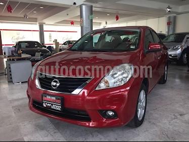 Foto venta Auto Seminuevo Nissan Versa Advance (2014) color Rojo precio $137,900