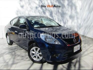 Foto venta Auto Seminuevo Nissan Versa Advance  (2014) color Azul precio $129,000