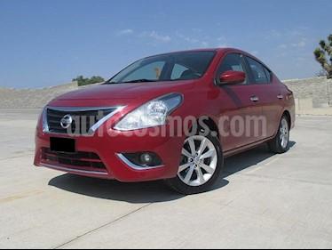 Foto venta Auto usado Nissan Versa Advance (2015) color Rojo precio $157,000