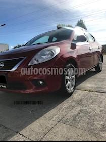 Foto Nissan Versa Advance usado (2012) color Rojo precio $89,500