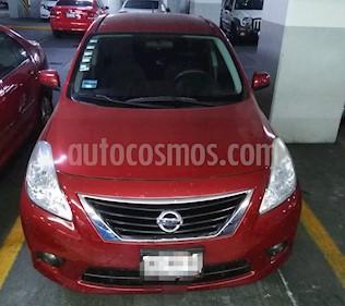 Nissan Versa Advance usado (2013) color Rojo precio $125,000