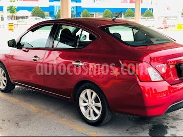 Nissan Versa Advance usado (2017) color Rojo precio $184,000