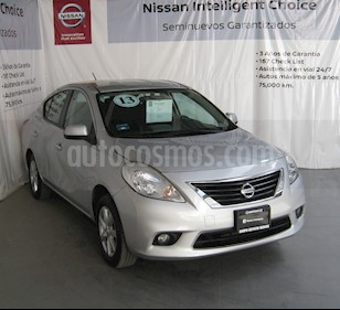 Foto venta Auto usado Nissan Versa Advance (2013) color Plata precio $130,000