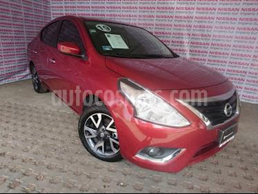 Foto Nissan Versa Advance usado (2019) color Rojo precio $225,000