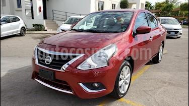 Foto venta Auto usado Nissan Versa Advance (2018) color Rojo precio $191,900
