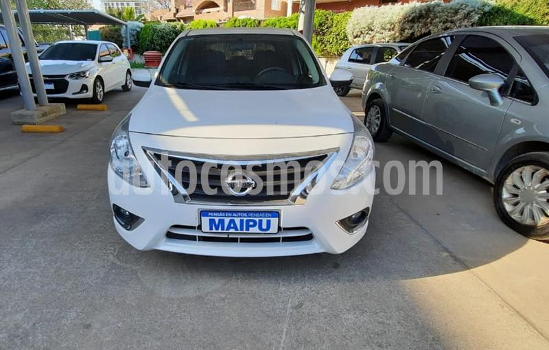 Nissan Versa Exclusive Aut usado (2017) color Blanco precio $990.000