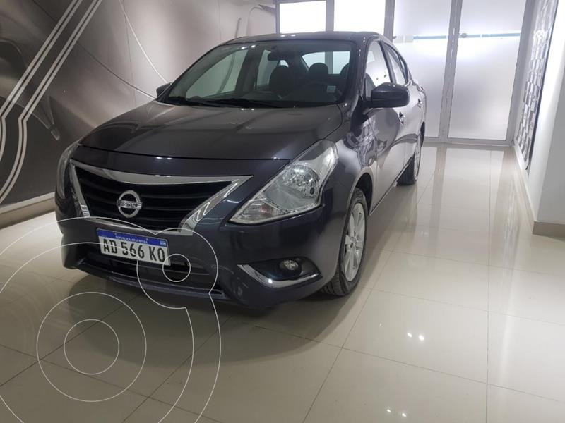 Nissan Versa Sense Aut usado (2019) color Gris Oscuro precio $1.105.000