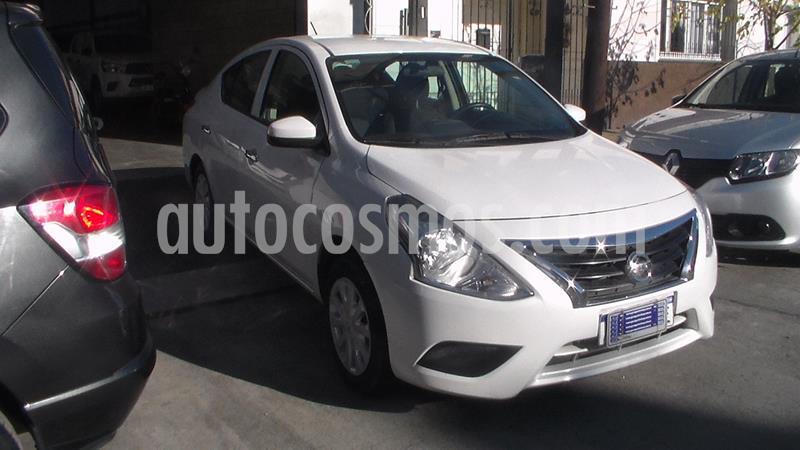 Nissan Versa Sense usado (2018) color Blanco precio $779.900