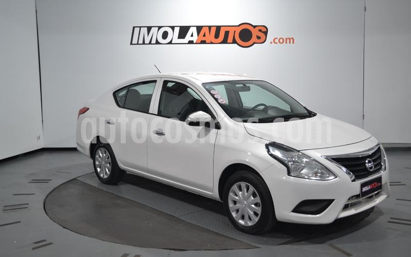 Nissan Versa Sense usado (2018) color Blanco precio $750.000
