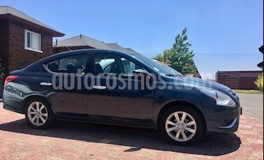 Nissan Versa Advance usado (2017) color Azul Oscuro precio $7.750.000