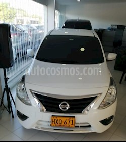 Nissan Versa Advance Aut  usado (2015) color Blanco precio $35.000.000