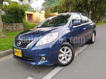 Nissan Versa Advance usado (2013) color Azul precio $28.300.000