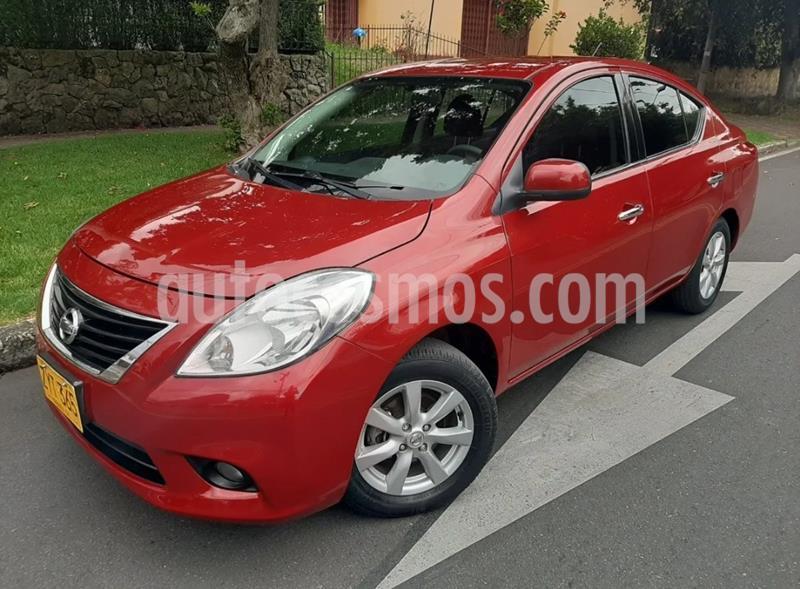 Nissan Versa Advance usado (2014) color Rojo precio $28.900.000