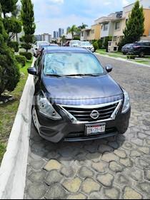 Foto Nissan Versa Drive Aut usado (2017) color Gris Oscuro precio $149,900