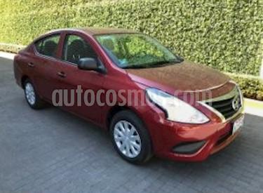 Nissan Versa Drive usado (2018) color Rojo precio $33.000.000