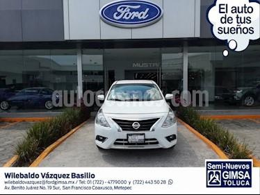 Foto venta Auto usado Nissan Versa Exclusive Aut (2017) color Blanco precio $185,000