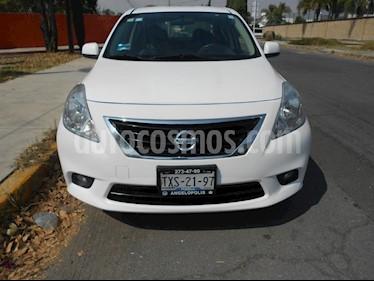 Foto venta Auto Seminuevo Nissan Versa Exclusive Aut (2013) color Blanco precio $125,000
