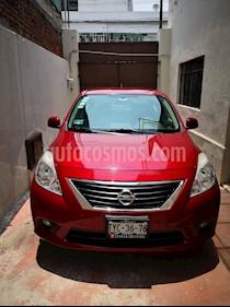 foto Nissan Versa Exclusive Aut  usado (2014) color Rojo precio $122,000