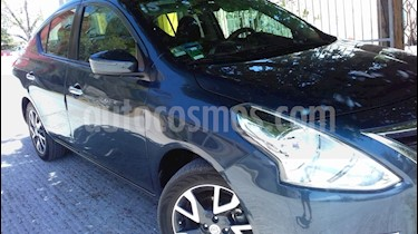 Nissan Versa Exclusive Aut  usado (2015) color Azul precio $178,000