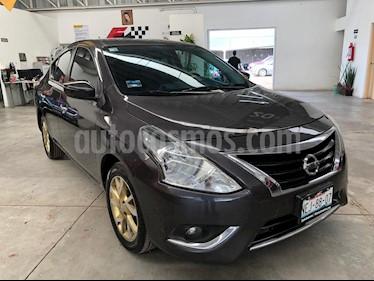 Foto Nissan Versa Exclusive Aut usado (2017) color Gris precio $189,000