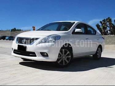 Foto Nissan Versa Exclusive Aut  usado (2014) color Blanco precio $140,000