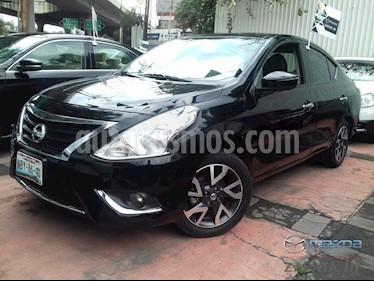 Foto venta Auto usado Nissan Versa Exclusive Aut (2017) color Negro precio $180,000