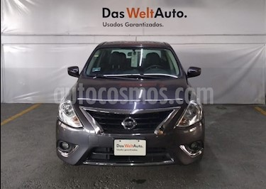 Foto venta Auto Seminuevo Nissan Versa Exclusive Aut  (2015) color Hierro Encendido precio $169,000