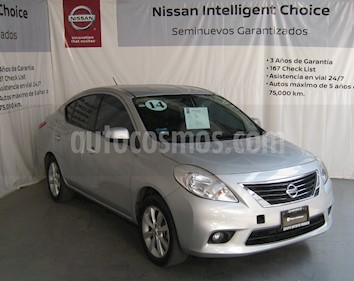 Foto venta Auto usado Nissan Versa Exclusive Aut  (2014) color Plata precio $160,000